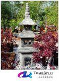 화강암 고대 돌 손전등, 옥외를 위한 정원 Pagoda