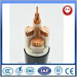 Baixo cabo distribuidor de corrente isolado XLPE de tensão