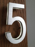 Full Color of Acrylic e Metal Wit 304 Stainless Steel House Number
