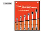 6PC de flexi-hoofdDopsleutel van de Doos (JD81600)