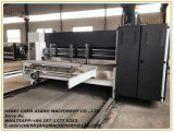 Vollautomatischer 2 Farbe gewellter Drucker Slotter und sterben Scherblock