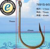 Crochet de pêche en acier inoxydable 7691s