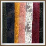 Laço floral do bordado de Tulle do laço do bordado do laço do bordado do engranzamento