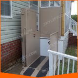 홈을%s 작은 유리제 샤프트 휠체어 엘리베이터 상승