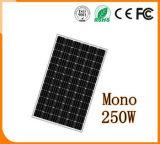 Sonnenkollektor der Bus-und Fahrrad-Station-hohe Leistungsfähigkeits-Monosolarbatterie-250W