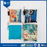 Sacos de dobramento impressos Digitas personalizados da senhora Tote do poliéster