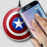 De Fabriek van kapitein America Wireless Charger From China ODM