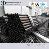 Tubulação de aço redonda laminada S235jo do carbono de Ss400 Ss330