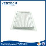 Singola griglia di aria anodizzata di deviazione di colore per uso di ventilazione