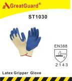 Gant en verre de pince de latex (ST1030GRN)