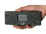 Rii Mini 2.4gh Wireless Keyboard avec Dpi Adjustable Function, Used pour IPTV, HTPC, PS3, Smart TV, Mac, HD Player, PC. (RT-MWK03)