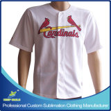 Custom Made e Sublimation Sports Baseball Apparel para Top Jersey