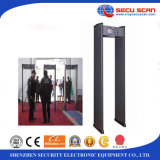 Bruit et éclairages LED Alarm Walk Through Metal Detector pour le cadre de porte Metal Detector d'Indoor Use