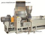 Granulatore di riciclaggio di plastica della plastica e della macchina per la pellicola ed il fiocco