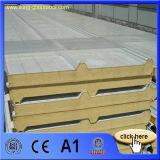 El panel de emparedado de aluminio de la PU del panel de emparedado de la azotea