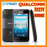 Idream G20 Smartphone Android, CPU di Qualcomm 7227T 800Hz, RAM di 513MB ROM+ 512MB, macchina fotografica reale del pixel di 5m