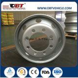 22.5*8.25 22.5*9.0 Förderwagen Steel Aluminum Wheel Rim für Heavy Truck