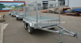 Tandem Double Eixos Box Car Farm Trailer