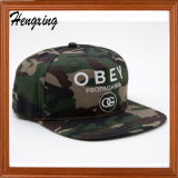 Stickerei Camouflage Snapback Cap mit Your Designed Logo
