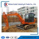 Mini excavatrice Kd60 de chenille avec le poids de l'opération 6ton