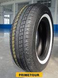 Pequeños neumáticos de coche de China, talla 205/65r15 del neumático del coche de la polimerización en cadena con la escritura de la etiqueta