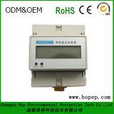 Medidor da energia elétrica de fase monofásica, alta qualidade e medidor espertos pagados antecipadamente do baixo preço