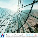 Doblado/curvado vidrio endurecido/Tempered para el vidrio del vector/de la pared