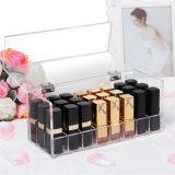 De aangepaste Vierkante AcrylDoos Van uitstekende kwaliteit van de Opslag van de Lippenstift