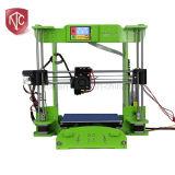 LCD-aanraking 150*150*150mm Grootte 0.1mm van de Bouw het Geheel die van de Precisie 3D Printer verzegelen