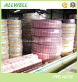 Mangueira industrial plástica do PVC/mangueira da descarga/mangueira espiral da sução
