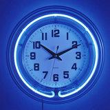 Неоновый часы (KD-E-02)