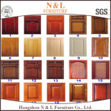 N&Lの家具の新しいデザイン北アメリカの現代標準的な純木の食器棚
