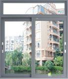 Doppelverglasung-ausgeglichenes Glas-schiebendes Aluminiumfenster (pH-8838)