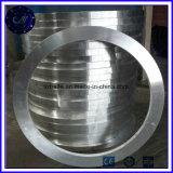 Forjamento de aço rolado sem emenda do rolamento do anel do grande diâmetro para o rolamento do giro
