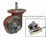 Cua Cone Worm Gear Reducer mit Mounting Flange
