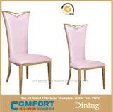 의자를 식사하는 현대 형식 식당 스테인리스
