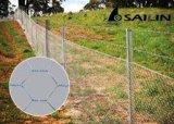 Engranzamento de fio sextavado de Sailin para a cerca da exploração agrícola