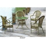 販売法のための安い屋外の藤のビストロの表そして椅子