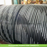 Manguito trenzado de acero del petróleo del manguito del alambre del manguito del manguito de goma de alta presión hidráulico