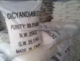 백색 수정같은 Cyanoguanidine DCDA Dicyandiamide