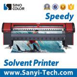 stampante esterna solvibile di 3.2m con la testa di stampa di Konica