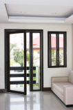 Pnoc080232ls de Interne Deur van de Gordijnstof van het Aluminium van het Ontwerp met Aangemaakt Glas