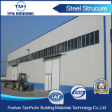 Edificio de la estructura de acero con la certificación de la ISO para el almacén del taller