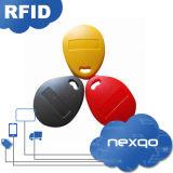 Impresión barata RFID Fob dominante del Silkscreen del ABS T5577