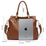 여자를 위한 좋은 품질 가죽 핸드백 Satchel 어깨에 매는 가방