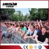 Barrera movible de aluminio del control de muchedumbre del concierto de la cerca para el control de muchedumbre del acontecimiento