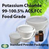 Het Chloride van het Kalium van de Rang van het voedsel/Kcl 99%Min.