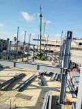 Edificio ligero prefabricado del almacén de la estructura de acero del Grande-Palmo