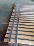 中国装飾用PVC上塗を施してある住宅の黒い細工した柵の鋼鉄に囲うこと