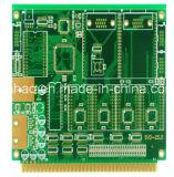 Lf-Hal 2layer Pab Fr4 с PCB зеленого цвета Двойн-Стороны